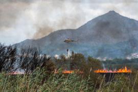 Controlado el incendio de s'Albufera tras devastar 438 hectáreas