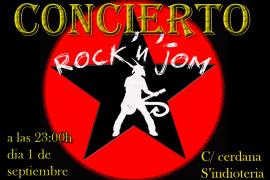 Rock & Jom en concierto
