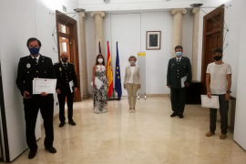 La delegada del Gobierno entrega las medallas al mérito penitenciario