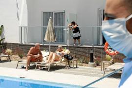El turismo nacional baja un 76,5 % en Baleares en el segundo trimestre