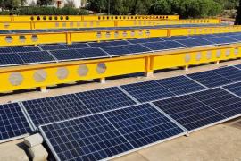 El Consell de Ibiza culmina la instalación de 84 placas fotovoltaicas en la ITV de Santa Gertrudis