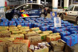 Cae una red de tráfico de hachís a gran escala con base en Mallorca