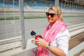 Michael Schumacher se recupera junto a su mujer en su casa de Mallorca