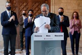 Torra pide al Constitucional que suspenda de forma urgente su inhabilitación