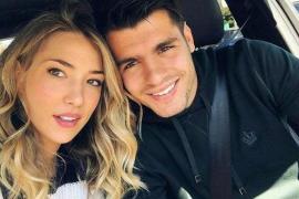 Alice Campello y Álvaro Morata ya son padres de su tercer hijo