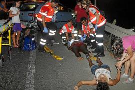 Herido grave un ciclista tras ser arrollado por un coche en es Rafal