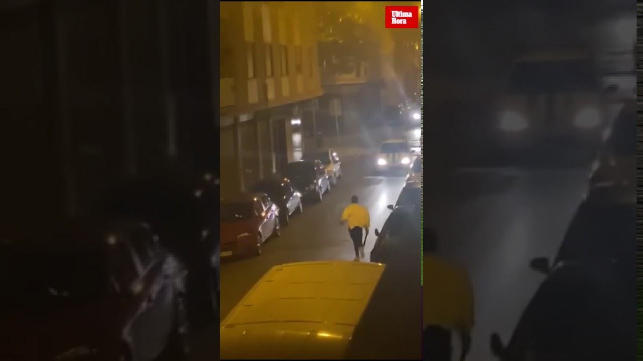 La policía investiga una pelea entre dos hombres armados con machetes en Palma