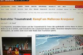 La revista 'Der Spiegel' alerta del «riesgo» del futuro complejo hotelero de sa Ràpita