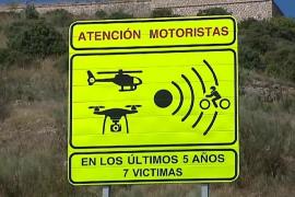 Así es la nueva señal de la DGT que informa de los motoristas fallecidos