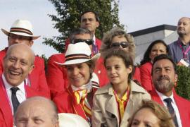 La infanta Elena y sus hijos, en los Juegos Paralímpicos