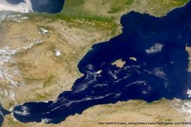 La Islas Baleares determinan la circulación marina del Mediterráneo
