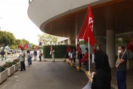 Los trabajadores de las residencias privadas reivindican sus derechos