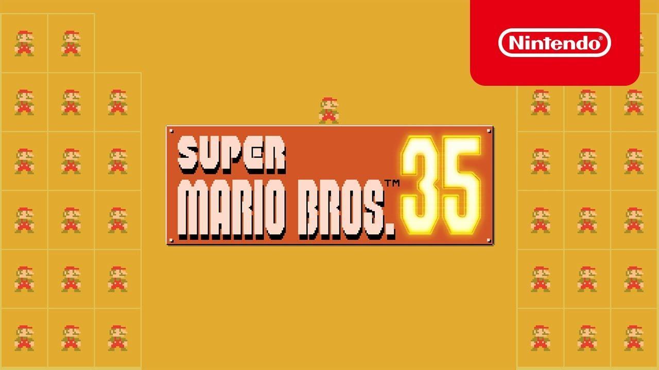 35 Marios jugando al mismo tiempo