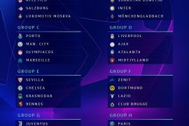 Estos son los rivales de los equipos españoles en la fase de grupos de la Champions