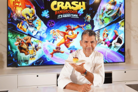 Paco Roncero prepara una receta inspirada en Crash Bandicoot 4: It's About Time
