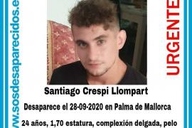 Alertan de la desaparición de un joven de 24 años en Palma