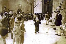 Hoy se cumplen cien años del incendio de la Capella de Sant Bernat de la Catedral