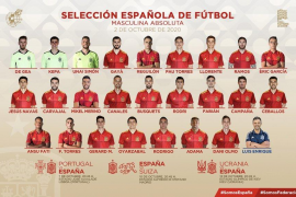 Campaña, Canales y Ceballos, novedades en la lista de Luis Enrique