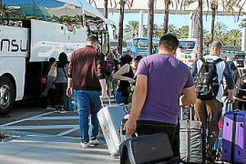 El 96 % de autocares turísticos de Baleares, parados por falta de actividad
