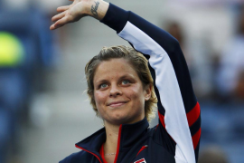 Kim Clijsters dice «goodbye» en Nueva York