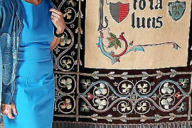 Descubren la doble autoría mallorquina de los tapices del convento de Peralada