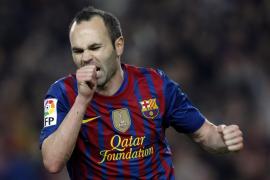 Iniesta, elegido mejor jugador en Europa de la temporada 2011-12