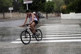 La lluvia regresa a Mallorca