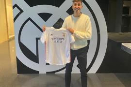 Rafel Obrador firma con el Real Madrid
