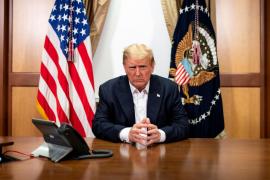 Trump anuncia que sale este lunes del hospital y dice que no hay que temer al coronavirus