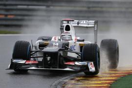 Kobayashi por delante de Maldonado en el primer entrenamiento libre