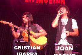 Joan Bagur y Cristian Ibarra en concierto en La Movida
