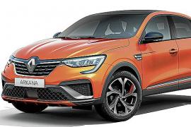 Arkana, el nuevo SUV Coupé híbrido de Renault