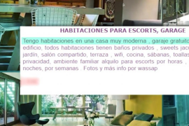 La casa de Josep Maria Mainat se alquila como punto de encuentros sexuales