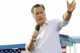 Romney promete pasar página a la presidencia de Obama creando empleos