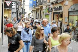El turismo compensó el primer día los efectos negativos del 'nuevo' IVA en Palma