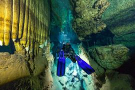 Ponen en marcha una campaña para investigar las cuevas sumergidas de Mallorca