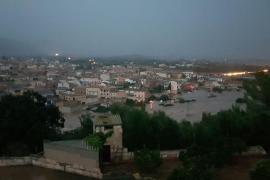 Inundaciones en Sant Llorenç y Canyamel
