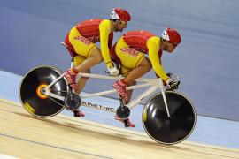 José Enrique Porto y Villanueva consiguen medalla de bronce en velocidad