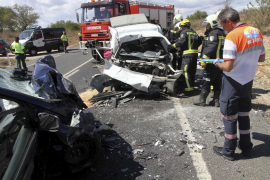 Accidente mortal en la carretera que une Campos y Llucmajor