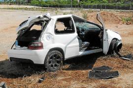 El conductor accidentado de Ses Salines tiene 17 años y se llevó el coche de sus padres
