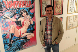 Guillem March expone 'Karmen' en La Misericòrdia, su cómic «más personal»
