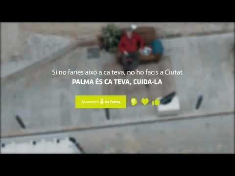 Campaña del Ajuntament de Palma para recoger los excrementos de perro en la calle