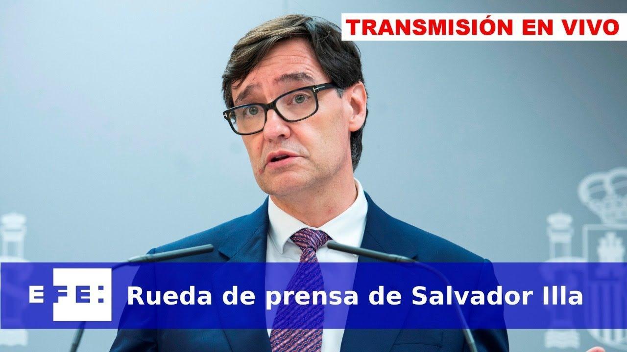 Así ha sido la rueda de prensa de Salvador Illa y Fernando Marlaska