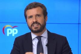 Casado acusa a Sánchez de intervenir por partidismo y respalda a Ayuso