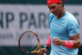 Nadal logra su decimotercera final de Roland Garros