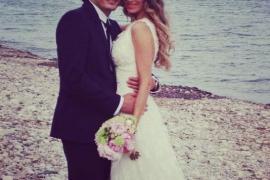 Vanesa Romero y Alberto Caballero  se casan por sorpresa