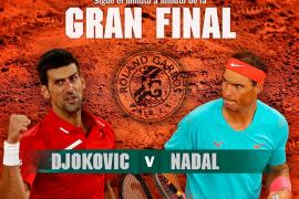 Así ha sido el Rafael Nadal-Novak Djokovic