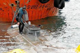 Dejan libre al implicado en la descarga del narcosubmarino desde Mallorca