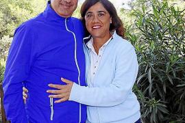 Angel Paes y Purificación Briz.