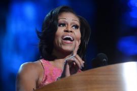 """Michelle Obama: """"Barack conoce el sueño americano porque lo ha vivido"""""""